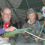 A visit to Suviyan, the 103 year-old shaman after she treated my injured wrist