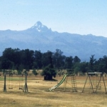 Mt. Kenya from Nanyuki Sports club