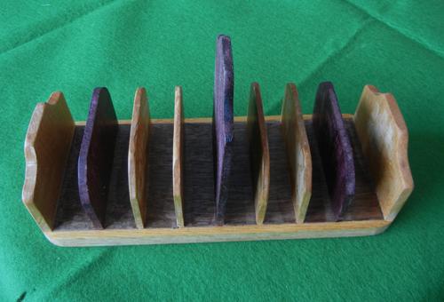 8 slice toast rack.