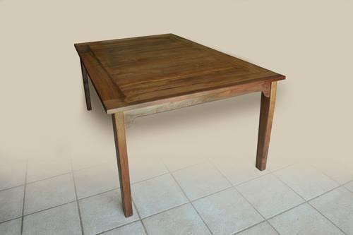 """Walnut dining table 6 feet by 43\"""" (182 x109cm)"""
