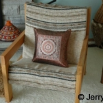 arm chair. African muhuru (a.k.a. Meru oak)